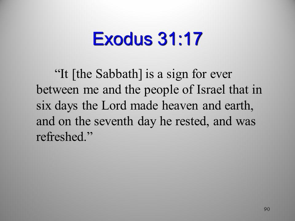 Exodus 31:17