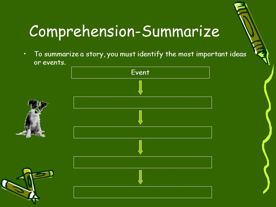 Comprehension-Summarize