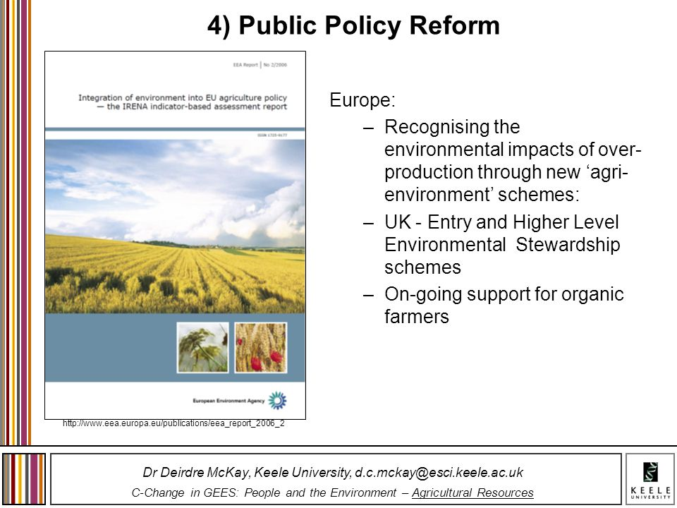 4) Public Policy Reform Europe: