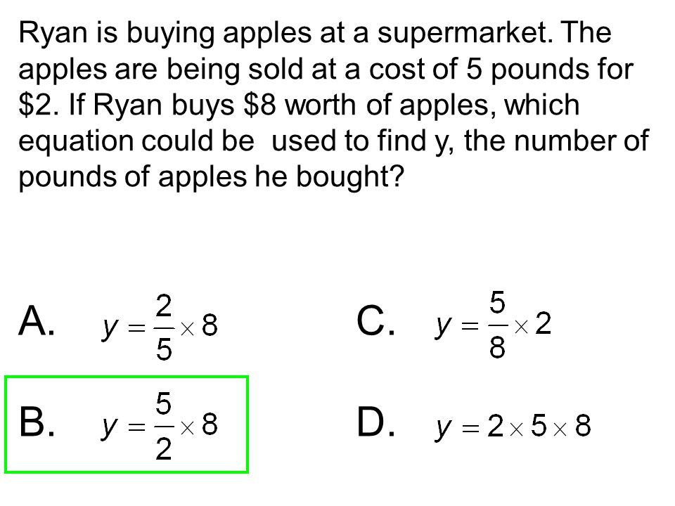 Ryan is buying apples at a supermarket