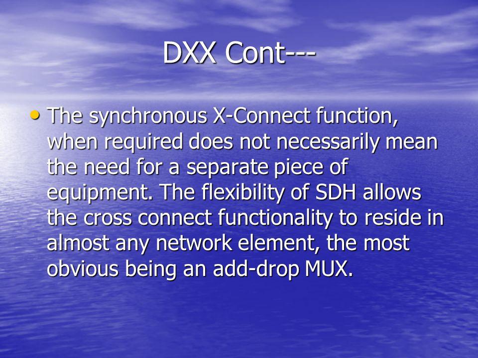 DXX Cont---