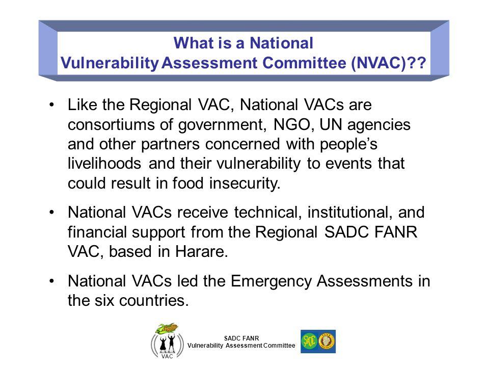 Vulnerability Assessment Committee (NVAC)