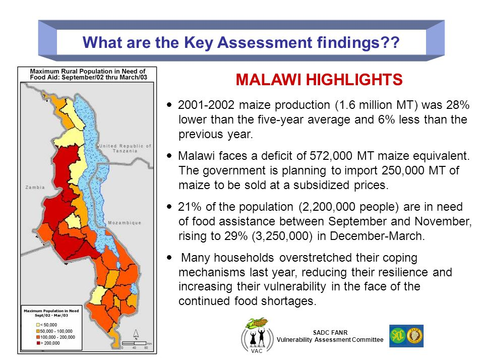 What are the Key Assessment findings