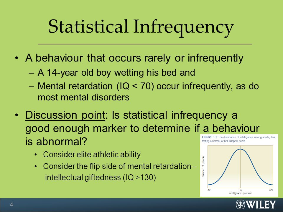 Statistical Infrequency