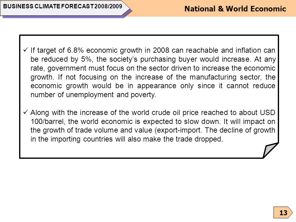 National & World Economic