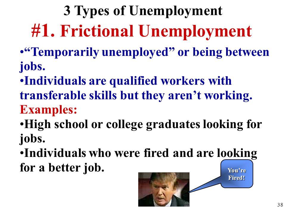 #1. Frictional Unemployment