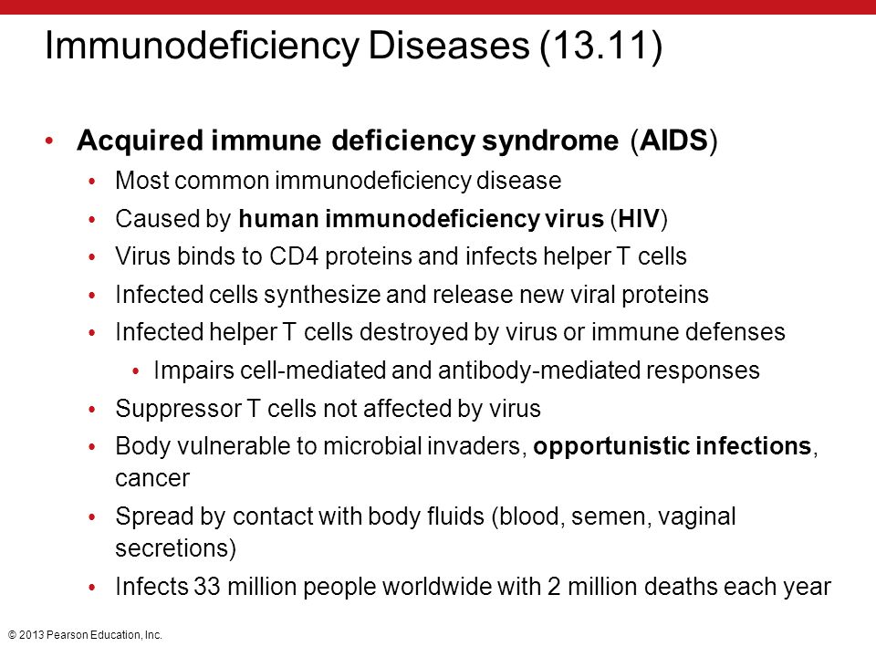 Immunodeficiency Diseases (13.11)
