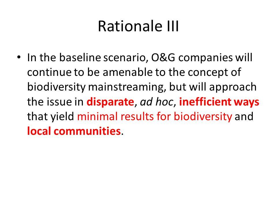 Rationale III