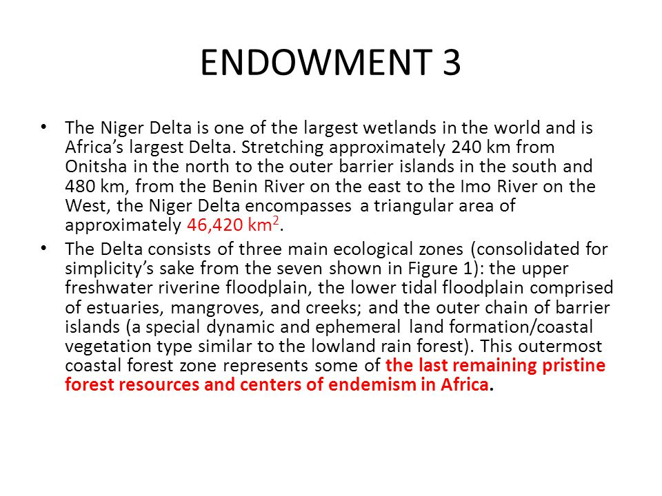 ENDOWMENT 3