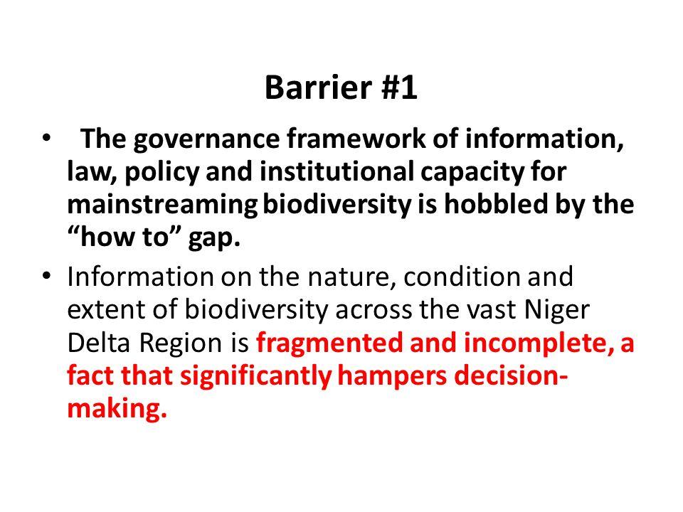 Barrier #1