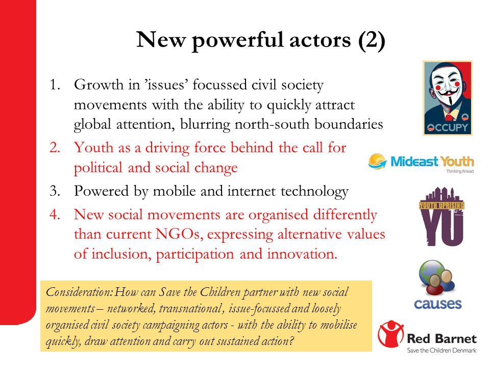 New powerful actors (2)