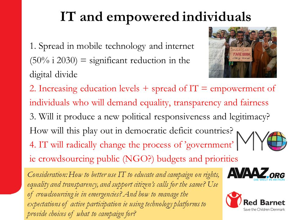 IT and empowered individuals