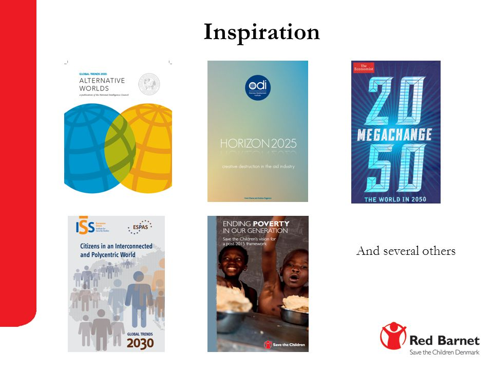 Inspiration And several others