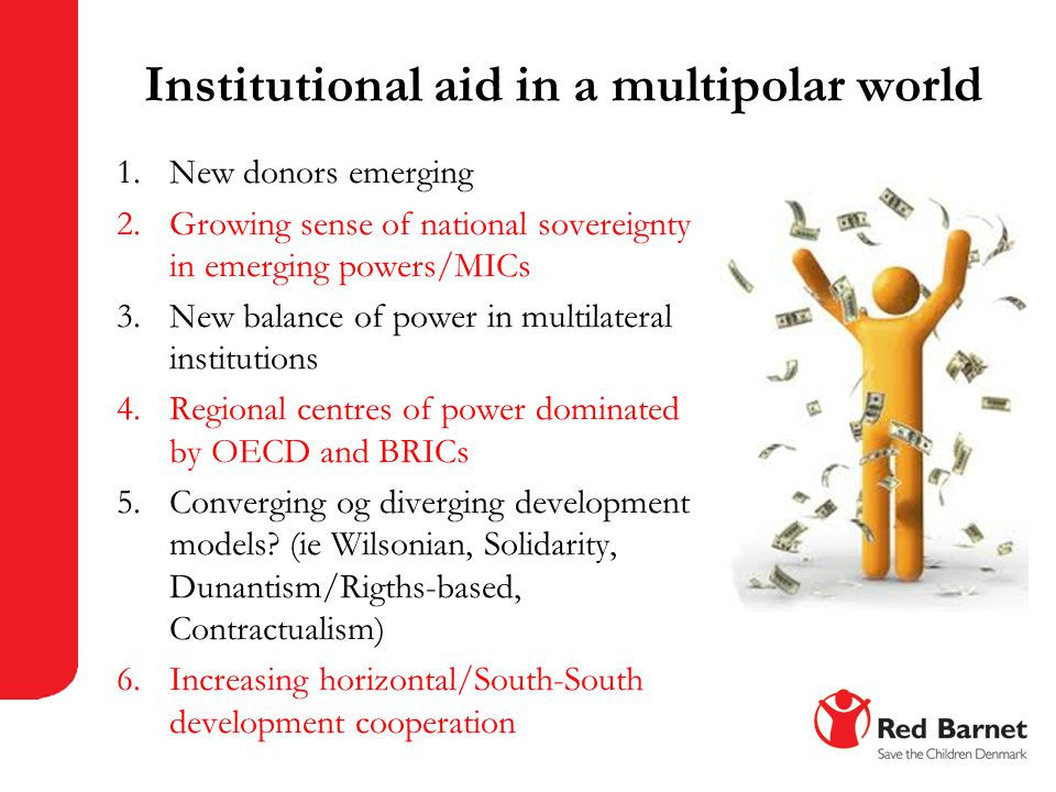 Institutional aid in a multipolar world