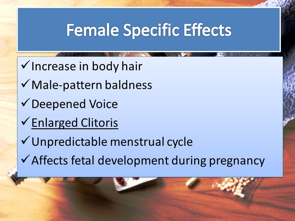 Female Specific Effects