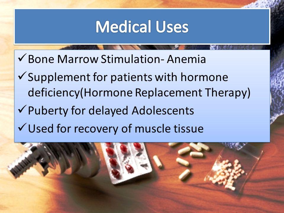 Medical Uses Bone Marrow Stimulation- Anemia