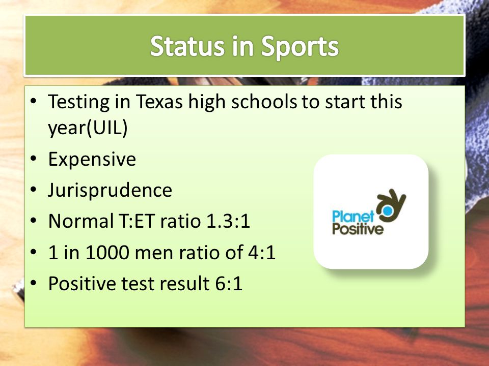 Status in Sports Testing in Texas high schools to start this year(UIL)