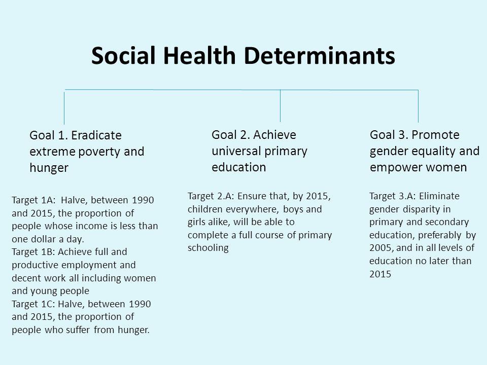 Social Health Determinants