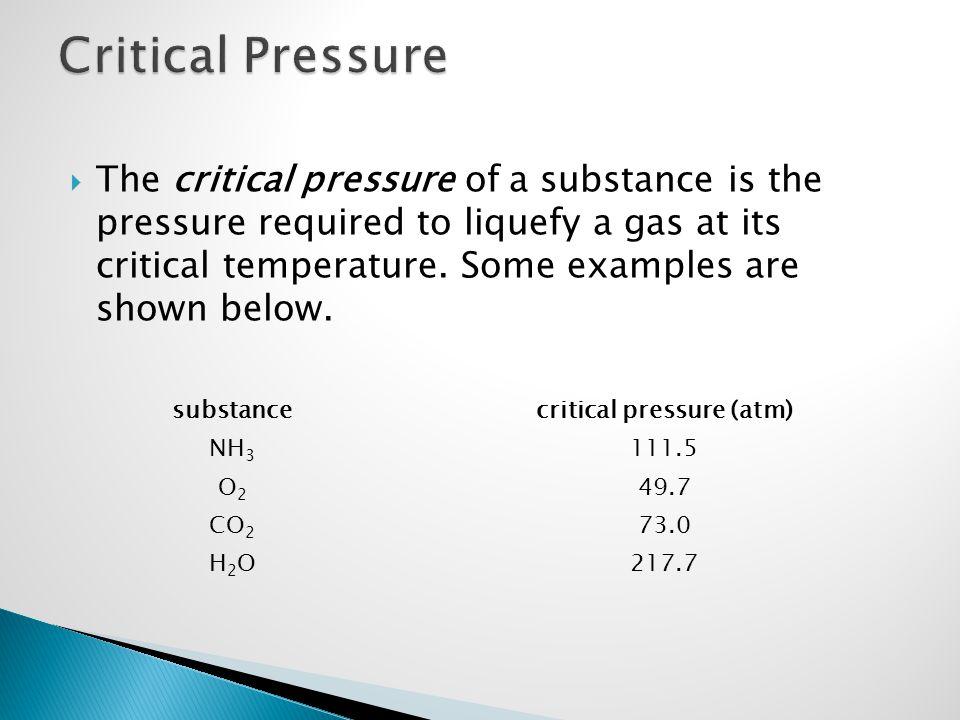 critical pressure (atm)