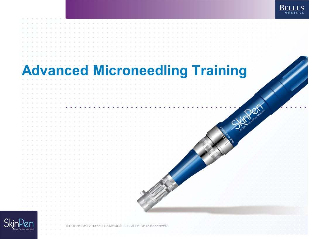 Advanced Microneedling Training