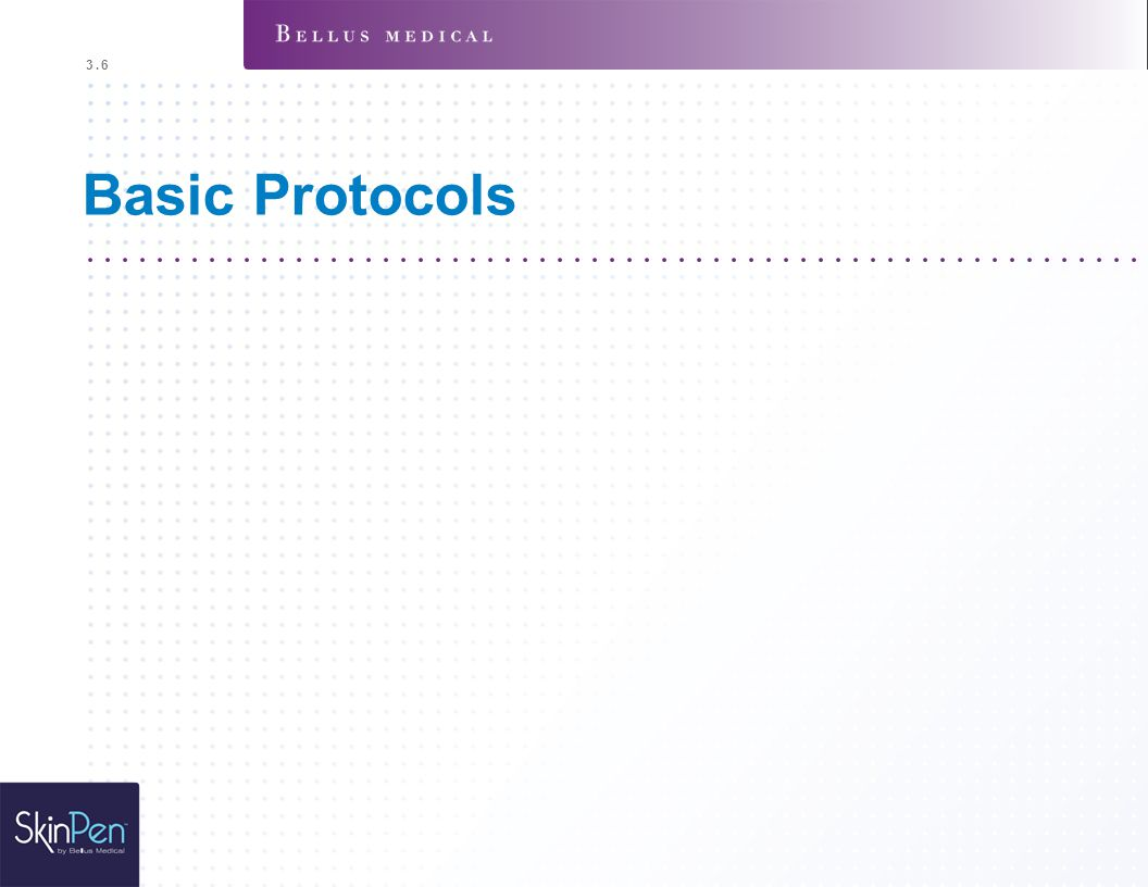 3.6 Basic Protocols