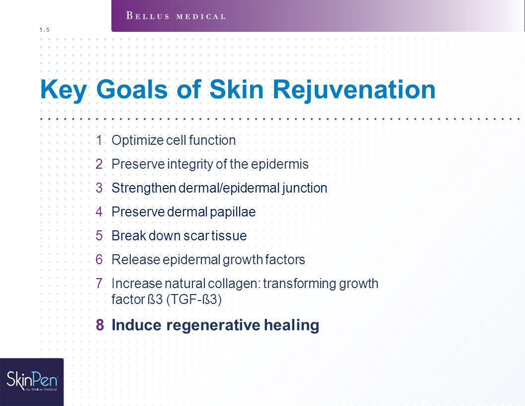 Key Goals of Skin Rejuvenation
