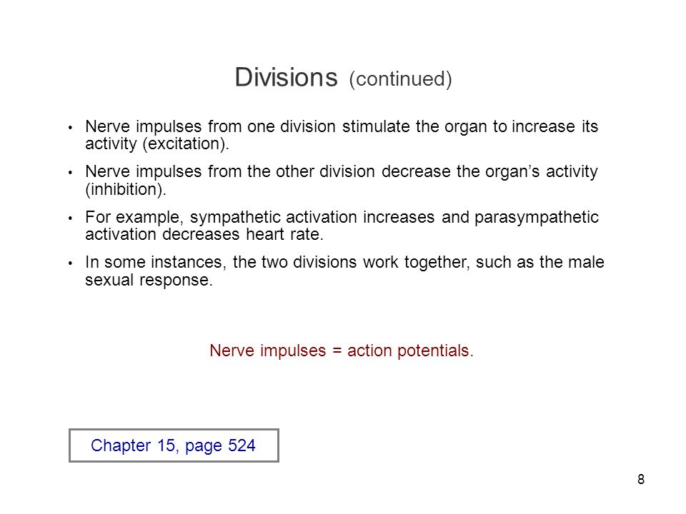 Divisions (continued)