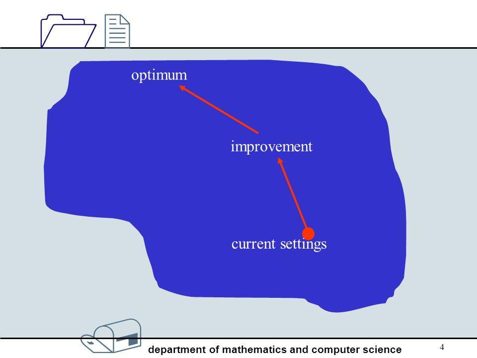 optimum improvement current settings