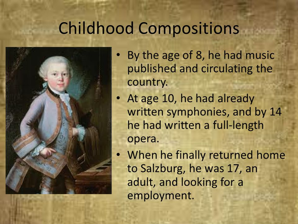 Childhood Compositions