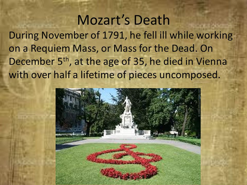 Mozart's Death