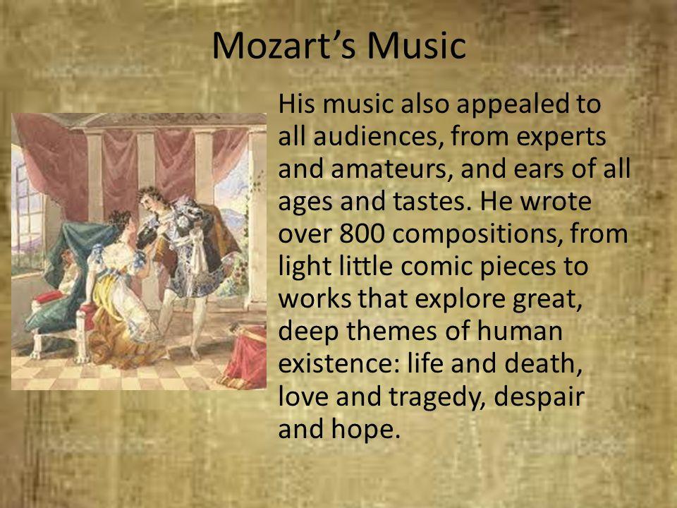Mozart's Music
