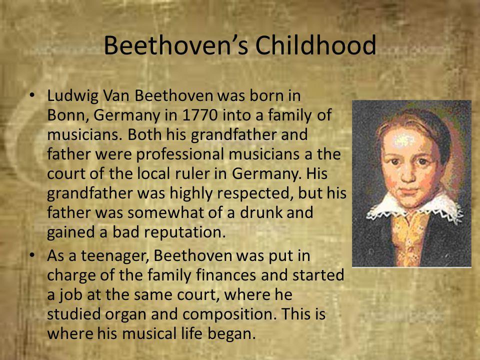 Beethoven's Childhood
