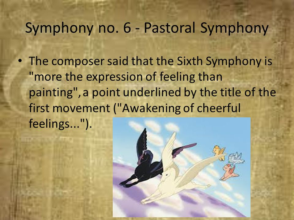 Symphony no. 6 - Pastoral Symphony