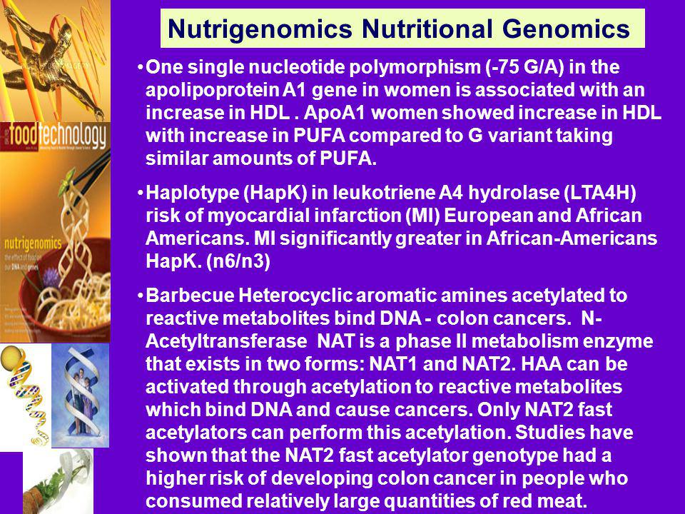Nutrigenomics Nutritional Genomics
