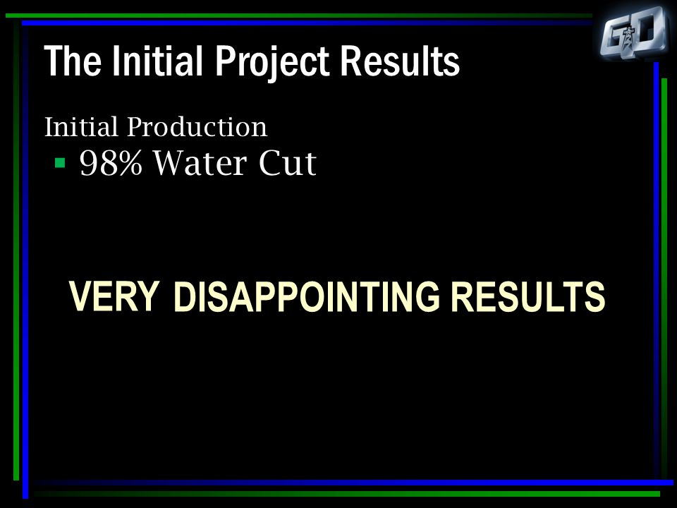 The Initial Project Results