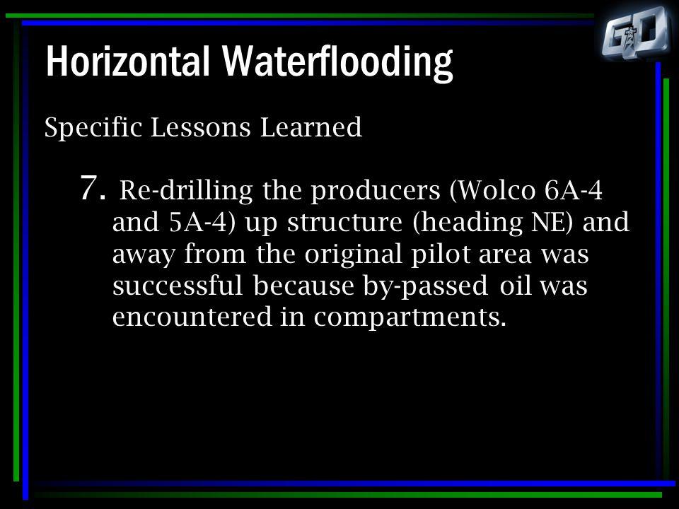 Horizontal Waterflooding