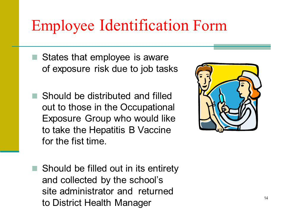 Employee Identification Form