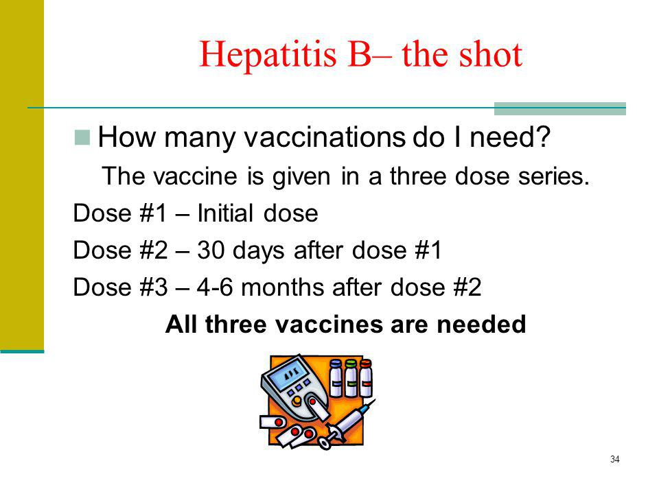 All three vaccines are needed