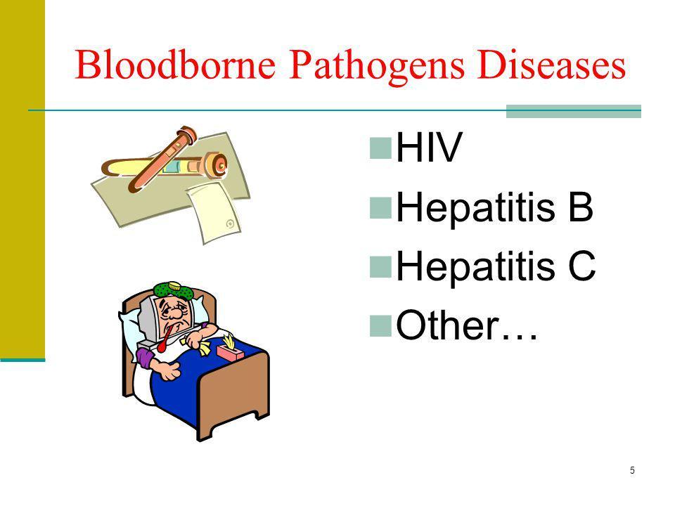 Bloodborne Pathogens Diseases