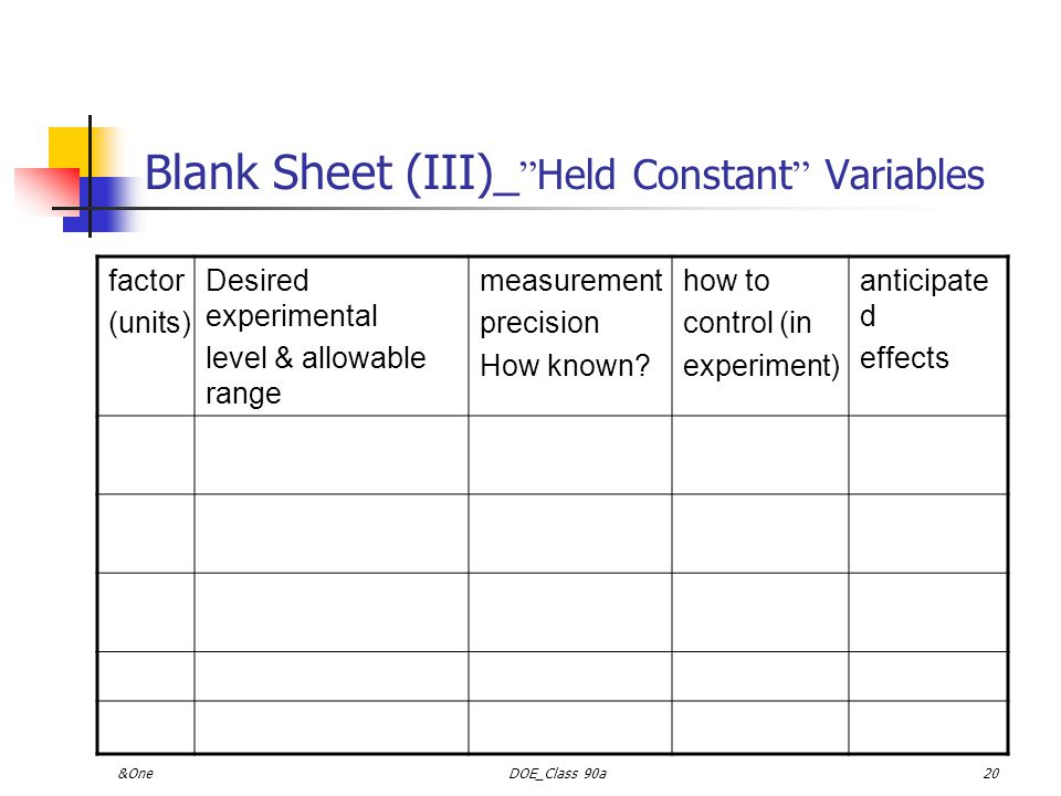 Blank Sheet (III)_ Held Constant Variables