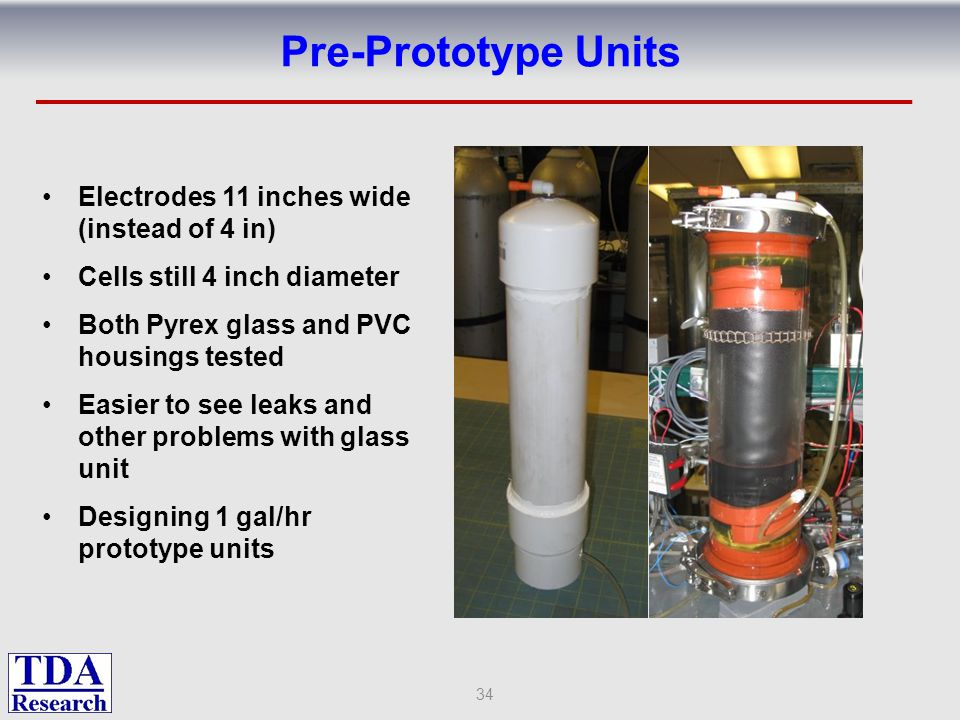 Pre-Prototype Units Electrodes 11 inches wide (instead of 4 in)
