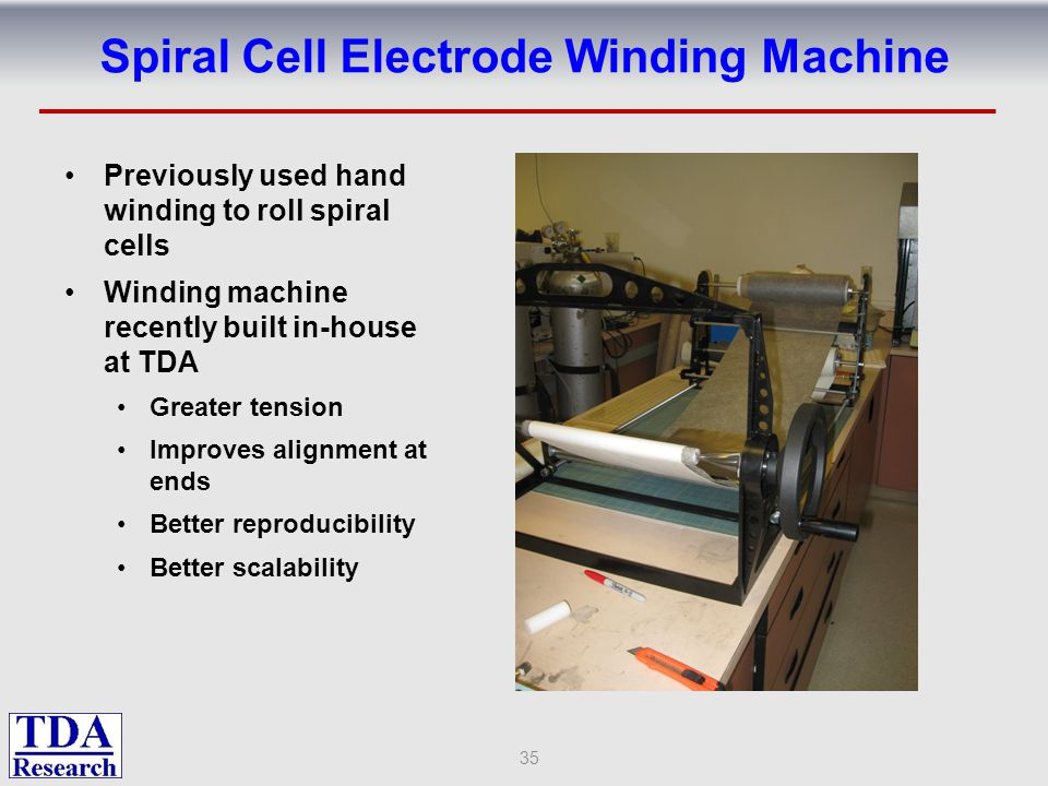Spiral Cell Electrode Winding Machine