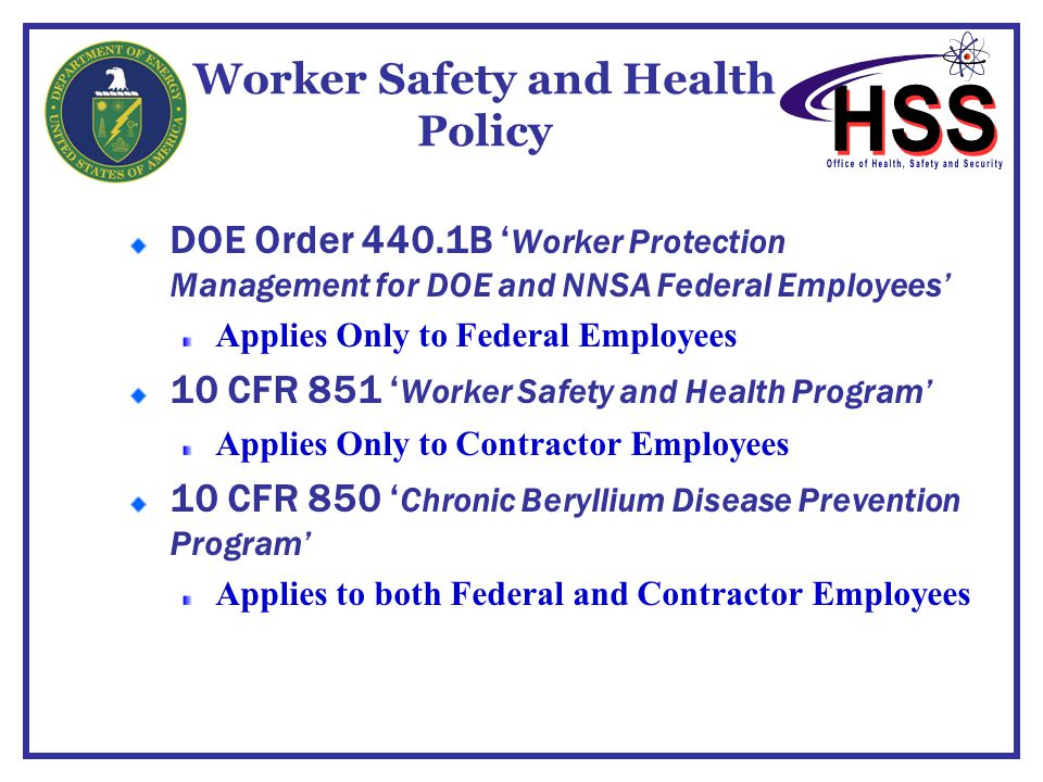 Worker Safety and Health Policy