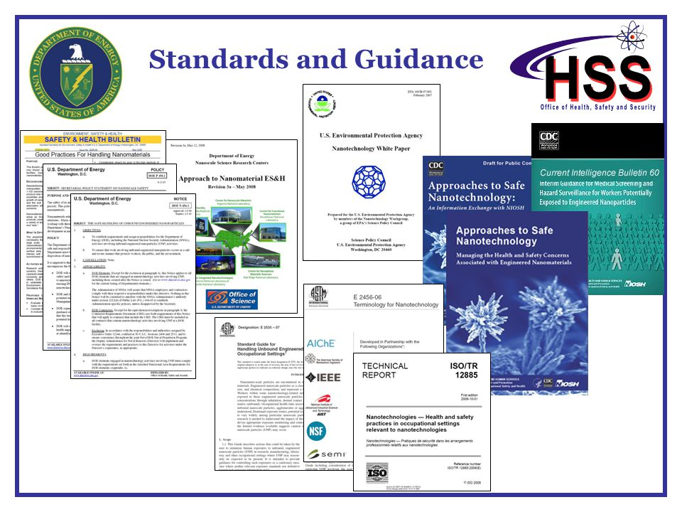 Standards and Guidance