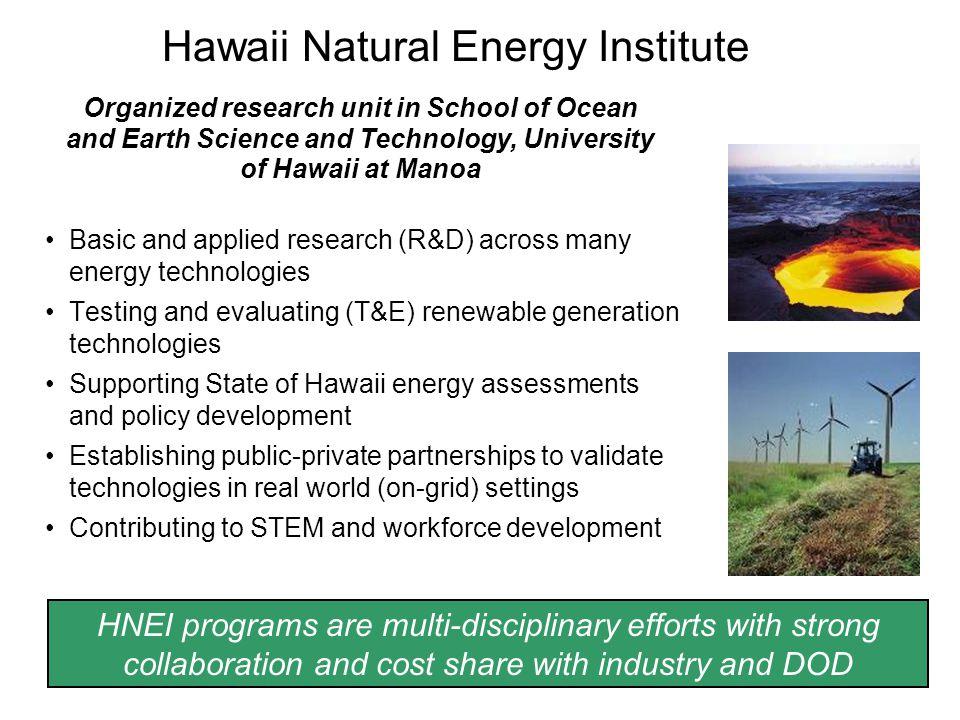 Hawaii Natural Energy Institute