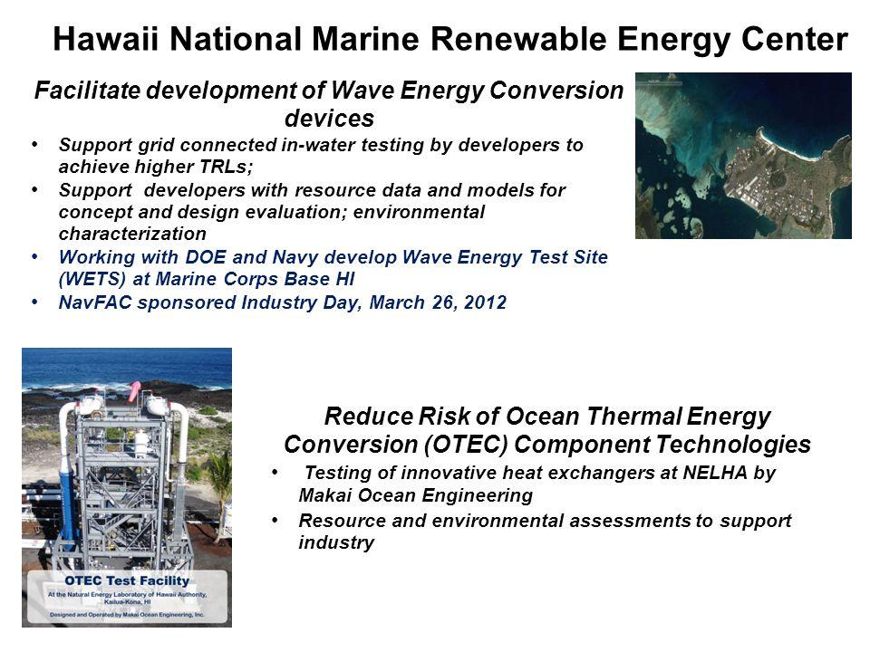 Hawaii National Marine Renewable Energy Center