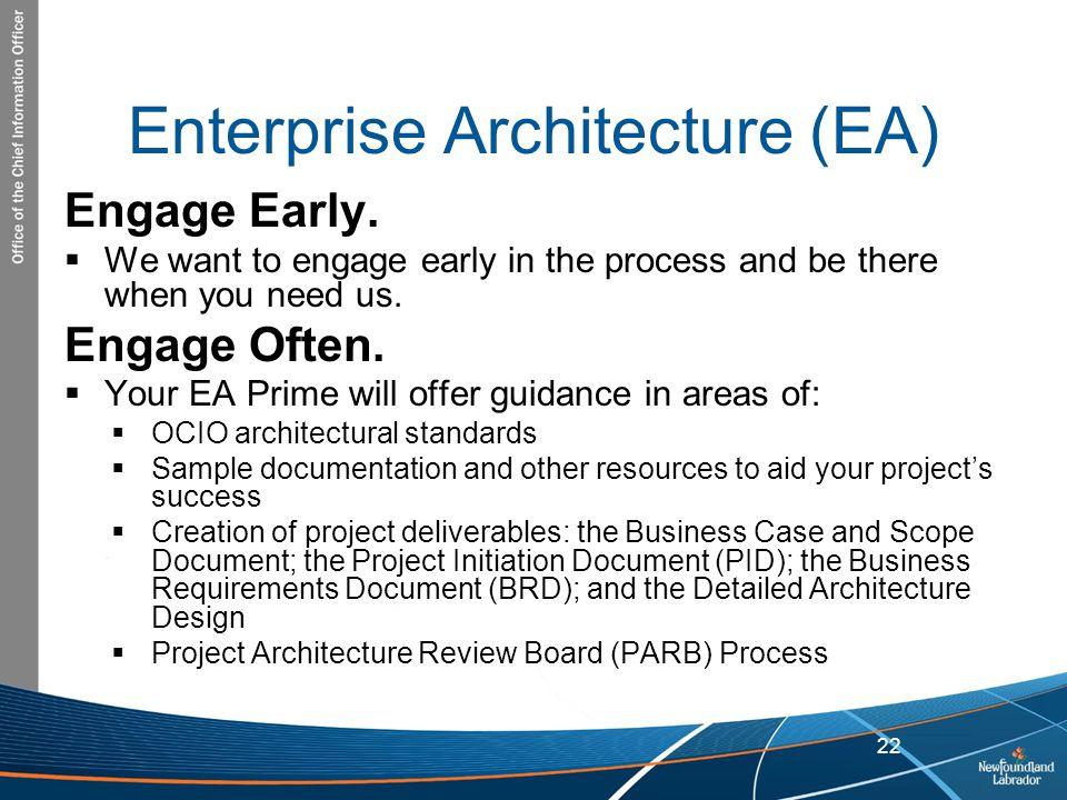Enterprise Architecture (EA)