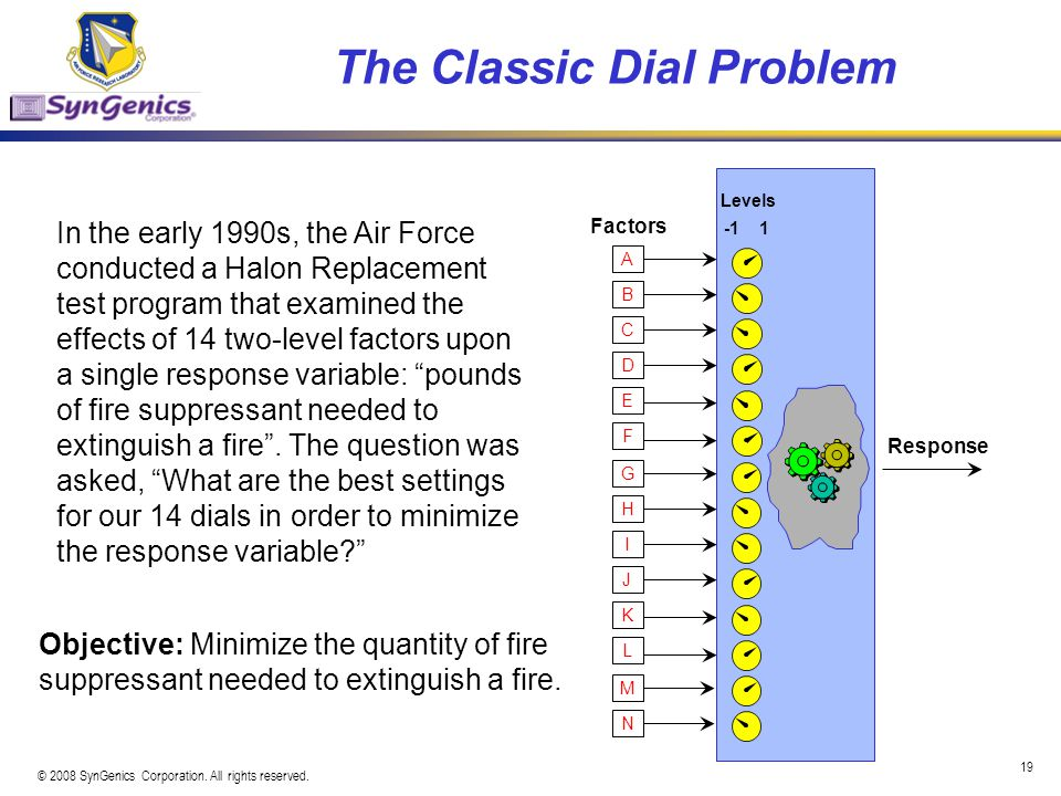The Classic Dial Problem