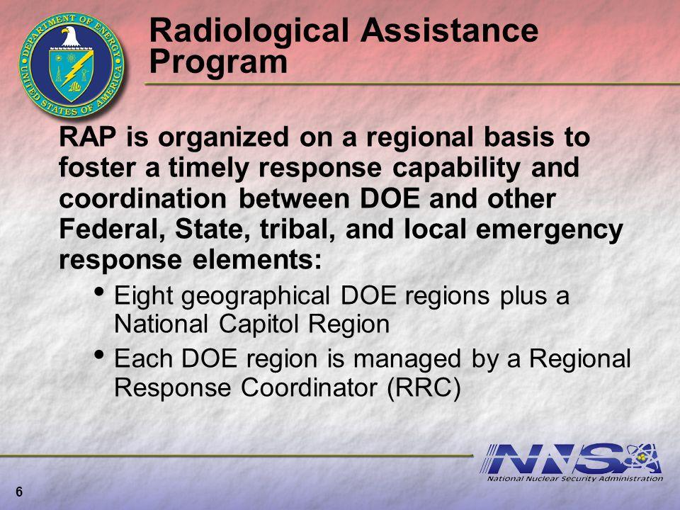 Radiological Assistance Program
