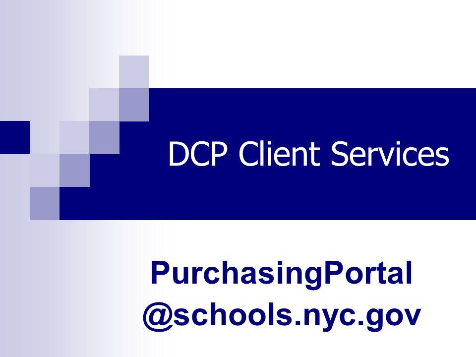 PurchasingPortal @schools.nyc.gov